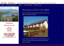 Gills View B&B Fort William www.gills-view.co.uk