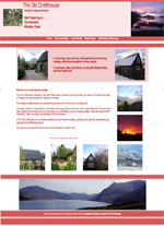 The Old Crofthouse self catering Wester Ross Scotland