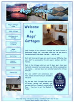 Mags Cottages - self catering Ballachuilish near Glencoe in the Highlands of Scotland